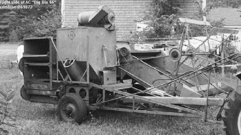 Allis Chalmers All Crop Harvester Page